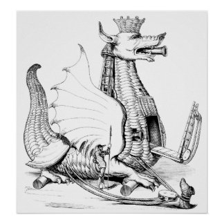 Máquina de guerra del dragón póster