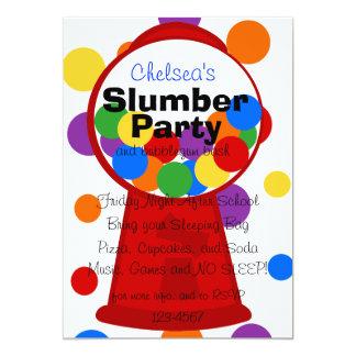Máquina de Gumball de la diversión Invitación 12,7 X 17,8 Cm
