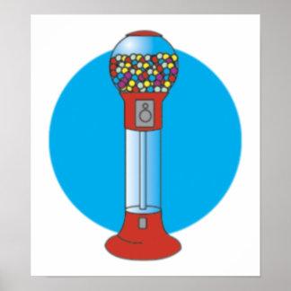 Máquina de Gumball Poster