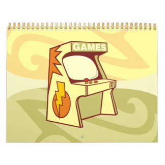 Máquina de la arcada calendarios