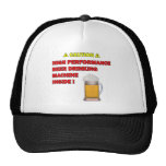 Máquina de la cerveza gorras