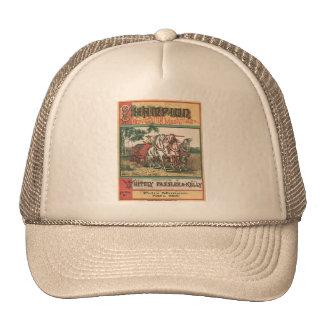 Máquina de la cosecha del campeón gorras