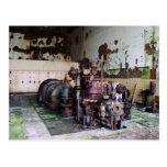 Máquina de la descomposición tarjetas postales