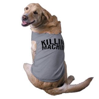 máquina de la matanza playera sin mangas para perro