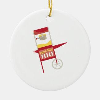 Máquina de las palomitas ornaments para arbol de navidad
