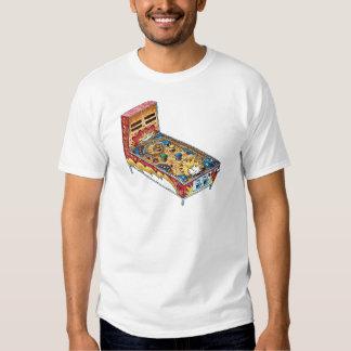 Máquina de pinball camisas