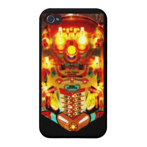 Máquina de pinball iPhone 4 carcasas
