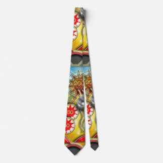Máquina de pinball retra divertida corbata personalizada