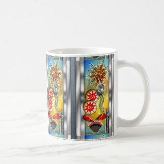 Máquina de pinball retra divertida taza de café