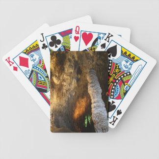 Máquina de tiempo barajas de cartas