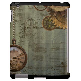 Máquina de tiempo de Steampunk Funda Para iPad