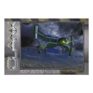 Máquina de vuelo (cartera) posters