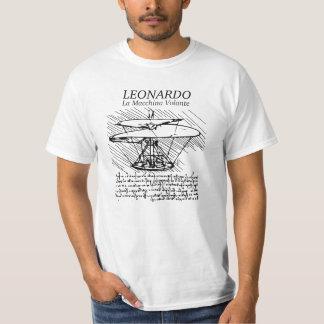 ¡Máquina de vuelo de Leonardo da Vinci! El vuelo Playera
