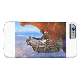 Máquina de vuelo de Steampunk Funda De iPhone 6 Barely There