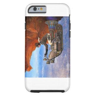 Máquina de vuelo de Steampunk Funda Para iPhone 6 Tough