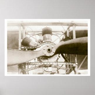 Máquina de vuelo maravillosa poster