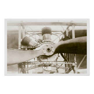 Máquina de vuelo maravillosa póster