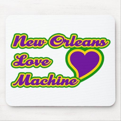 Máquina del amor de New Orleans Mousepad