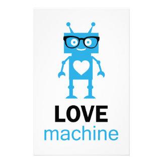 Máquina del amor papelería personalizada