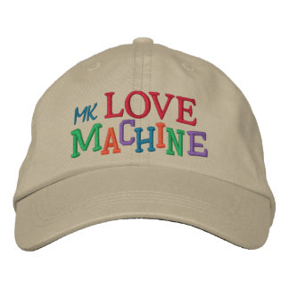 Máquina del amor por SRF Gorras Bordadas