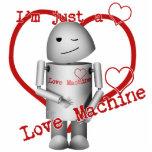Máquina del amor Robo-x9 (con el corazón) Escultura Fotográfica