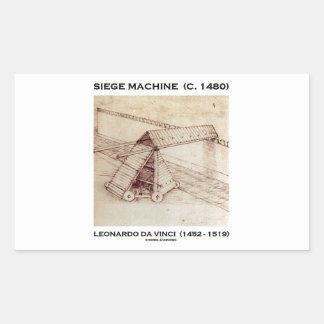 Máquina del cerco (circa 1480) Leonardo da Vinci