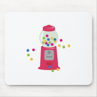 Máquina del chicle alfombrillas de ratones