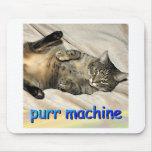 máquina del ronroneo tapetes de ratones