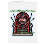 Máquina del ruido del invierno tarjetas