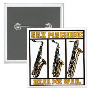 Máquina del saxofón pin