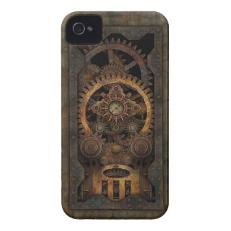 Máquina industrial sucia #2 de Steampunk Case-Mate iPhone 4 Cárcasas