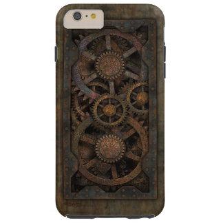 Máquina industrial sucia de Steampunk Funda Resistente iPhone 6 Plus