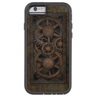 Máquina industrial sucia de Steampunk Funda Tough Xtreme iPhone 6