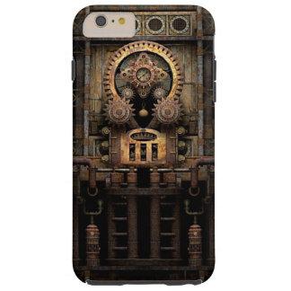 Máquina infernal de Steampunk Funda De iPhone 6 Plus Tough