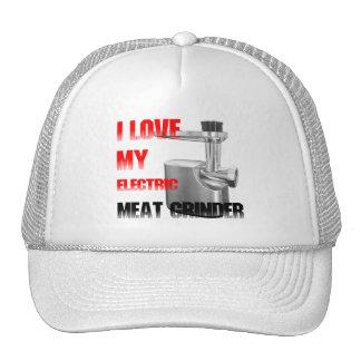 Máquina para picar carne eléctrica gorros bordados