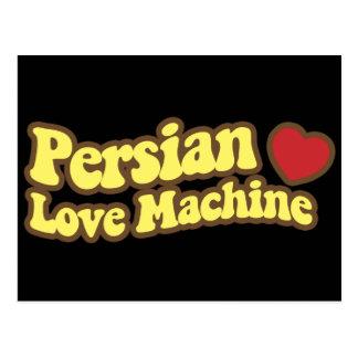 Máquina persa del amor tarjetas postales