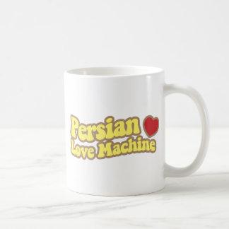 Máquina persa del amor taza de café