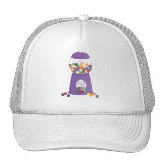 Máquina púrpura de Gumball Gorros Bordados