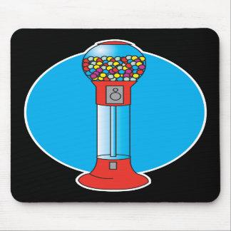 máquina retra del gumball alfombrillas de ratones