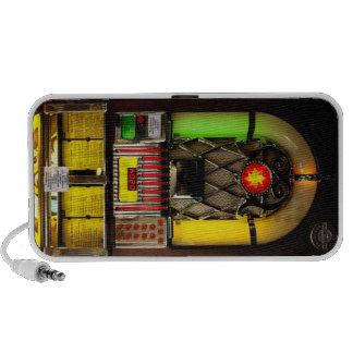 Máquina tocadiscos altavoz de viajar