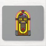 Máquina tocadiscos Aseada-o retra Mousepad Tapete De Ratón