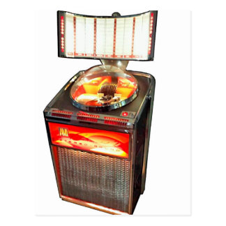 Máquina tocadiscos continental 2 del AMI Tarjetas Postales