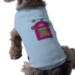 Máquina tocadiscos de neón ropa perro