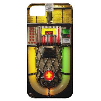 Máquina tocadiscos funda para iPhone SE/5/5s