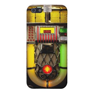 Máquina tocadiscos iPhone 5 carcasas