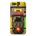 Máquina tocadiscos iPhone 5 funda