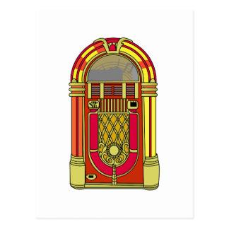 Máquina tocadiscos postal