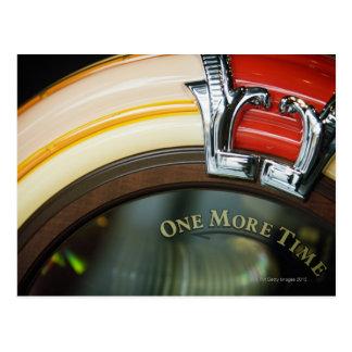 Máquina tocadiscos postales