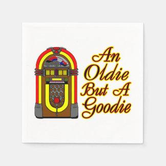 Máquina tocadiscos un Oldie pero un Goodie Servilleta Desechable