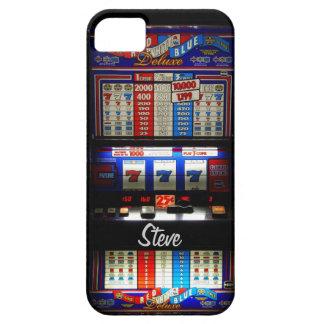 Máquina tragaperras de Las Vegas para los jugadore iPhone 5 Carcasas